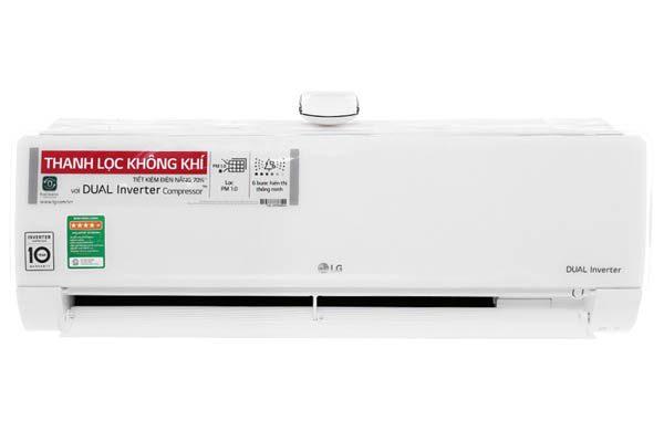 Máy lạnh inverter thanh lọc không khí LG.